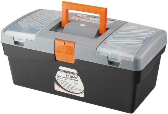 Ящик STELS 90704 420х220х180мм 17 пластик ящик для крепежа stels 90708