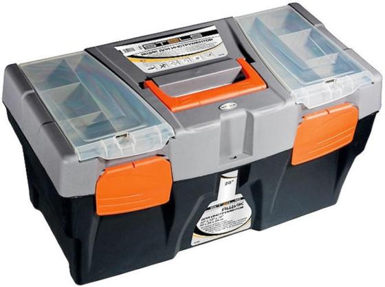 Ящик STELS 90706 для инструмента 590х300х300мм 24 пластик ящик stels 90706 для инструмента 590х300х300мм 24 пластик