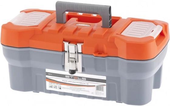 Ящик STELS 90711 для инструмента с мет. замками 16 175х210х410мм tool box stels 90711