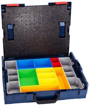 Ящик BOSCH L-BOXX 102 set 12 pcs (1.600.A00.1S3) 42x117x357мм 2.9кг 12 ячеек 4 pcs liner shader tattoo rotary motor gun machine kit set swashdrive