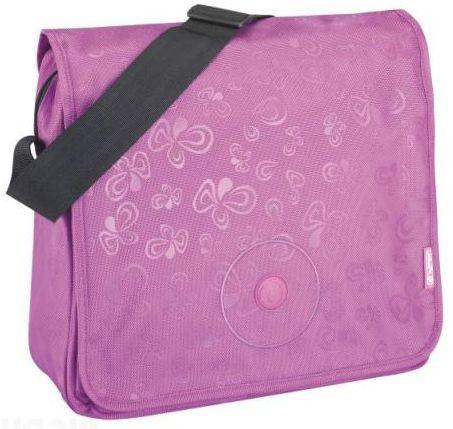Сумка Herlitz be.bag Flower Splash Purple розовый 11281474
