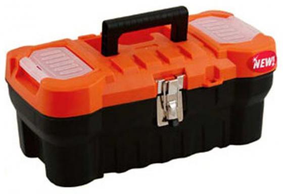 Ящик BLOCKER П3730 для инструмента Expert с металлическим замком 16 41х17.5х21см пластик ящик stels 90706 для инструмента 590х300х300мм 24 пластик