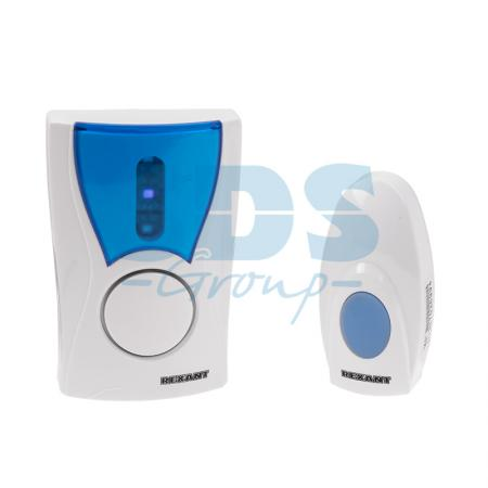 Беспроводной дверной звонок 220 вольт кнопка IP 44 REXANT RX-6