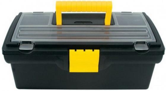 Ящик для инструмента FIT 65500 пластиковый 13 (33 х 17,5 х 12,5 см) ящик для инструмента fit 65572 пластиковый 16 41 х 22 х 19 5 см