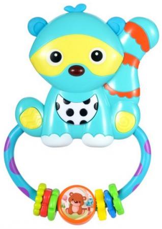 Интерактивная игрушка Жирафики Енот от 6 месяцев интерактивная игрушка жирафики каруселька для купания от 18 месяцев разноцветный 681124