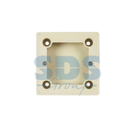 Бокс для  накладного монтажа  электроустановочных изделий BN-01 (бежевый) REXANT (совместим с моделями:RX-308B,RX-418H, RX-511H, RX527H)
