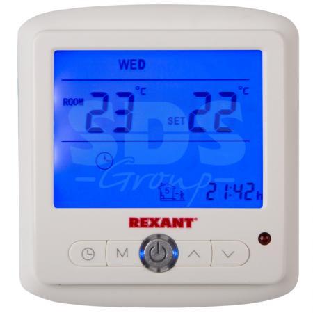Терморегулятор с дисплеем и автоматическим программированием (R860XT) REXANT мфу ricoh aficio mp 2501sp 416447
