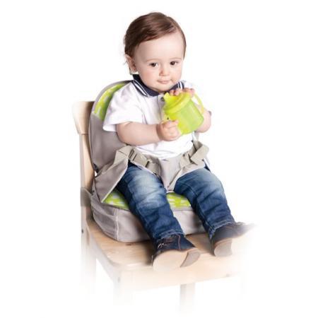 Стульчик-сумка для кормления и путешествий высокий с сидушкой и пеленальной площадкой, от 6 месяцев стульчик для кормления с 6 месяцев