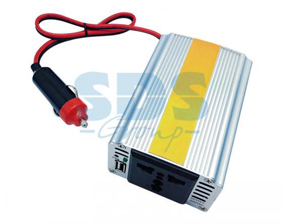 Автомобильный инвертор 150W 12V - 220V c USB REXANT автомобильный инвертор rexant 12v 220v c usb