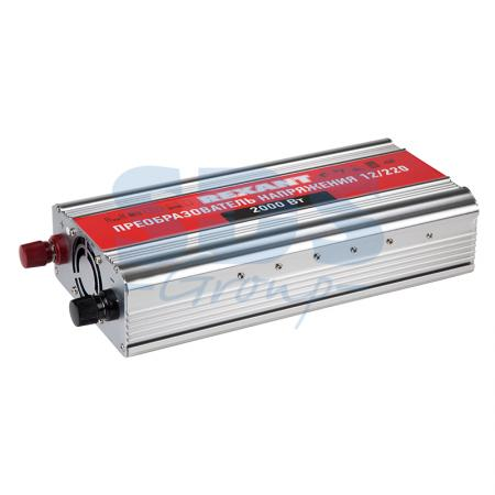 Автомобильный инвертор 2000 Вт 12В - 220В c USB REXANT автомобильный инвертор rexant 12v 220v c usb