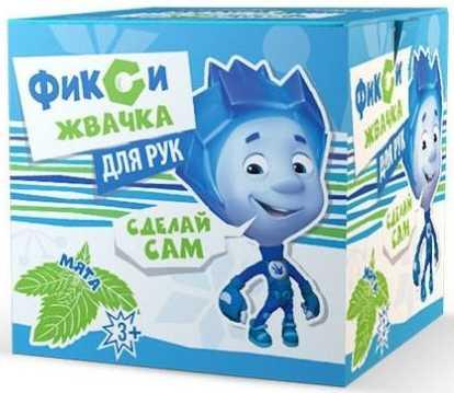 Комплект Инновации для детей Юный Химик Фикси Жвачка для рук Мята зеленый 881 инновации для детей вода и медные трубы