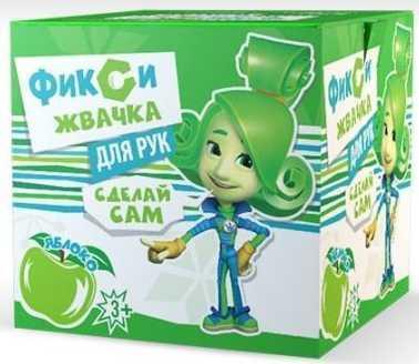Комплект Инновации для детей Юный Химик Фикси Жвачка для рук Яблоко зеленый 884