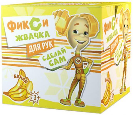 купить Набор Юный Химик Инновации для детей Фикси Жвачка для рук Банан желтый онлайн