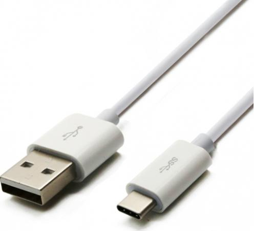 Шнур USB 3.1 type C (male) - USB 2.0 (male) 1M белый REXANT