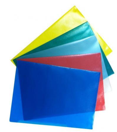 Папка-уголок Durable, A4, 180 микрон, глянец, полипропилен, синий, цена за 1 шт. папка уголок a4 прозрачная 3 шт 47280003