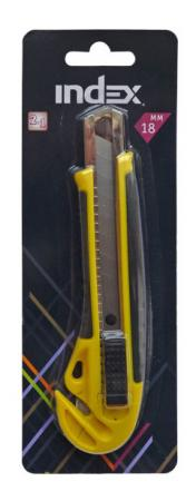 Канцелярский нож Index ICU700 канцелярский нож laco универсальный 18 мм