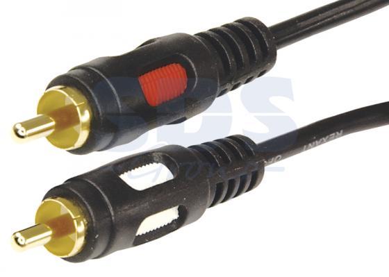 все цены на Шнур 2RCA Plug - 2RCA Plug 1.5М (GOLD) REXANT