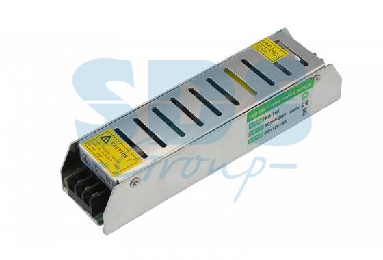 Источник питания компактный 12V, 80W с разъемами под винт, без влагозащиты (IP23) источник света для авто 2 vw mk6 80w h15 cree 450lm 12v