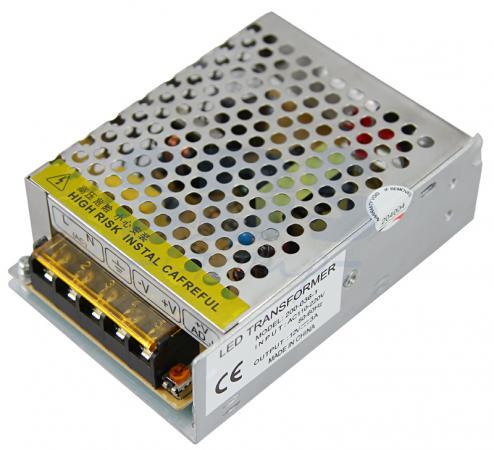 Источник питания 220V AC/12V DC, 2A, 24W с разъёмами под винт, без влагозащиты (IP23) блок питания rexant 220v ac 12v dc 2a 24w ip23 200 024 1