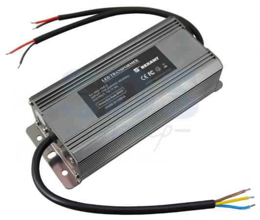 Источник питания 110-220V AC/12V DC, 6А, 72W с проводами, влагозащищенный (IP67) high quality 3kw 3000w dc 12v to ac 220v 240v pure sine wave power inverter with 10a charger automatic ac transfer switching