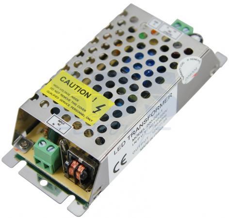 Источник питания 220V AC/24V DC, 1A, 24W с разъёмами под винт, без влагозащиты (IP23)