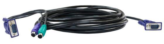 Набор кабелей D-LINK DKVM-CB 2xPS/2 1xVGA 1.8м цены онлайн
