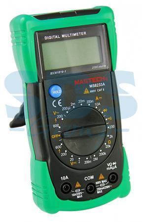 Универсальный мультиметр MS8233A MASTECH мультиметр mastech ms8239c