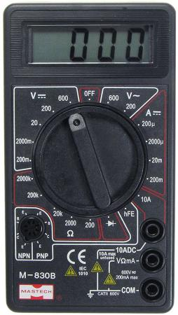 Портативный мультиметр M832 MASTECH мультиметр mastech ms8260c