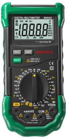 Профессиональный мультиметр MS8265 MASTECH mastech ms6701 lcd display digital sound level meter 30 130db