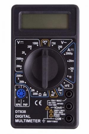 Портативный мультиметр M838(DT838) Proconnect