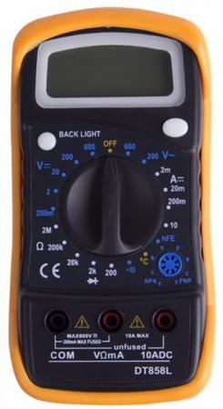 Универсальный мультиметр MAS838L(DT858L) Proconnect мультиметр iek master mas838l tmd 3l 838