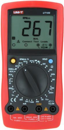 Автомобильный мультиметр UNI-T UT105 профессиональный автомобильный мультиметр сем at 9995e 481547