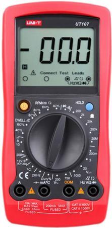 Автомобильный мультиметр UNI-T UT107 мультиметр uni t ut50d