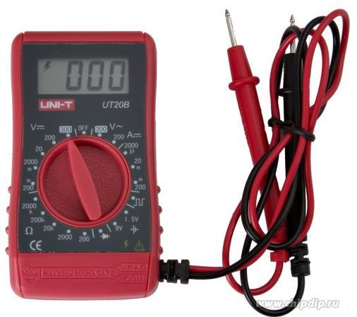 Портативный мультиметр UNI-T UT20B uni uni t ut58a стандартный цифровой мультиметр