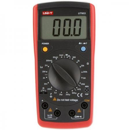 Профессиональный мультиметр (RLC-метр) UNI-T UT603 мультиметр uni t ut50d