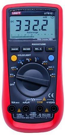 Профессиональный мультиметр UNI-T UT61C мультиметр uni t uni t ut71b alicate amperimetro ac dc