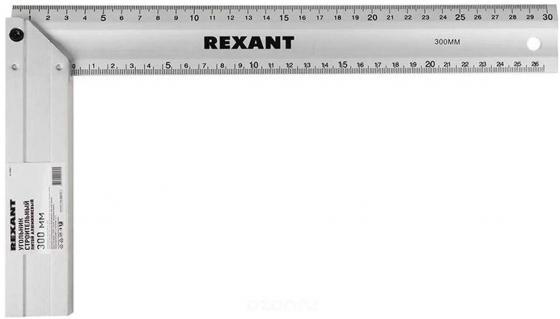 Угольник строительный литой алюминиевый 300 мм Rexant цена