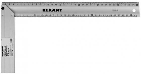 Угольник строительный литой алюминиевый 350 мм Rexant цена