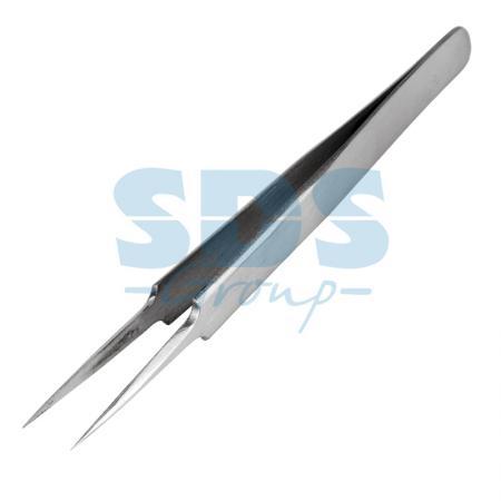 Пинцет прямой с острыми кончиками 125мм (блистер) REXANT qvs эргономичный пинцет со скошенными кончиками 82 10 1633