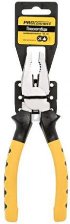 Плоскогубцы комбинированные 180 мм Proconnect комбинированные плоскогубцы black nickel 180 мм matrix 16980