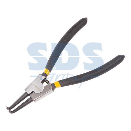 Щипцы для стопорных колец сжим загнутый 180 мм Proconnect щипцы для поршневых колец мастак 50 100 мм 103 01100