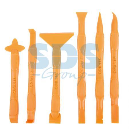 Набор инструментов для вскрытия корпусов мобильной техники 6 предметов RA-05 Rexant 12-4785 набор для пайки 6 предметов rexant