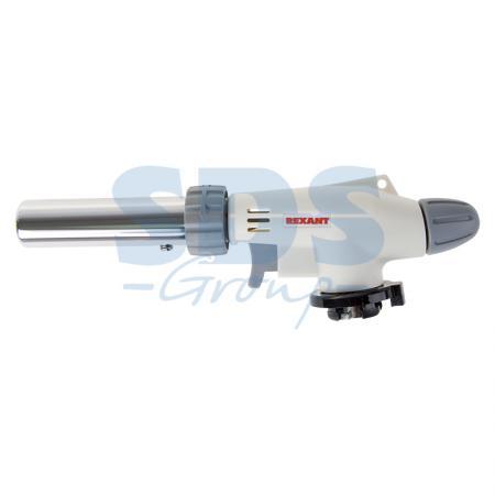 Газовая горелка-насадка REXANT GT-31 360? с пьезоподжигом газовая горелка kovea ткв 9703 1l со шлангом
