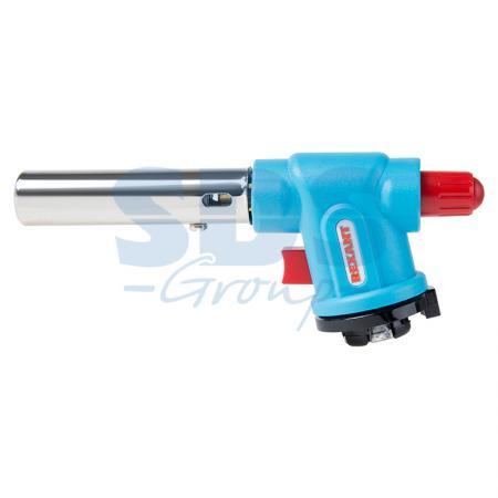 Газовая горелка-насадка REXANT GT-33 360? с пьезоподжигом газовая горелка kovea ткв 9703 1l со шлангом