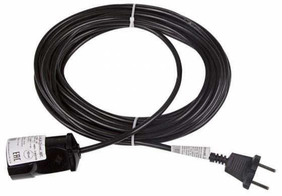 Удлинитель шнур 10м (1 роз.) 2х0.75 черный REXANT (Сделано в РОССИИ) монитор 24 dell p2417h ips led 1920x1080 6ms vga hdmi displayport