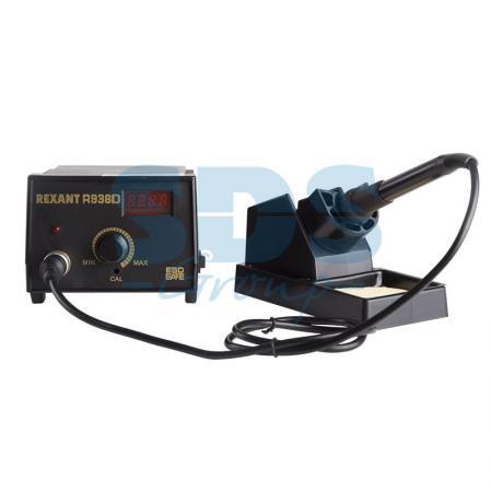 Паяльная станция (паяльник) с цифровым дисплеем 200-480°С (R936D) REXANT насадка паяльная 200 г topex 44e118 1