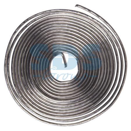 Припой с канифолью ПОС-61 O0.8мм спираль 1 метр REXANT припой с канифолью rexant пос 61 09 3108