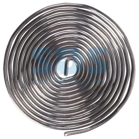 Припой с канифолью ПОС-61 O1.5мм спираль 1 метр REXANT