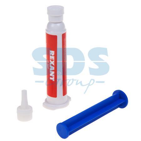 Флюс-гель для пайки Алюминия 12мл (шприц) REXANT флюс для пайки rexant скф 30ml 09 3640