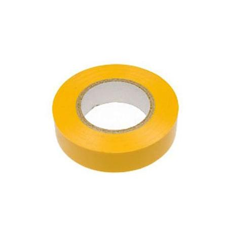 Изолента 15мм х 20м желтая REXANT изолента еврогарант желтая 19мм х 20м